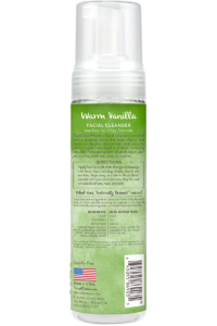 TC TCG Package Photo Waterless Facial Cleanser 7.4oz BACK