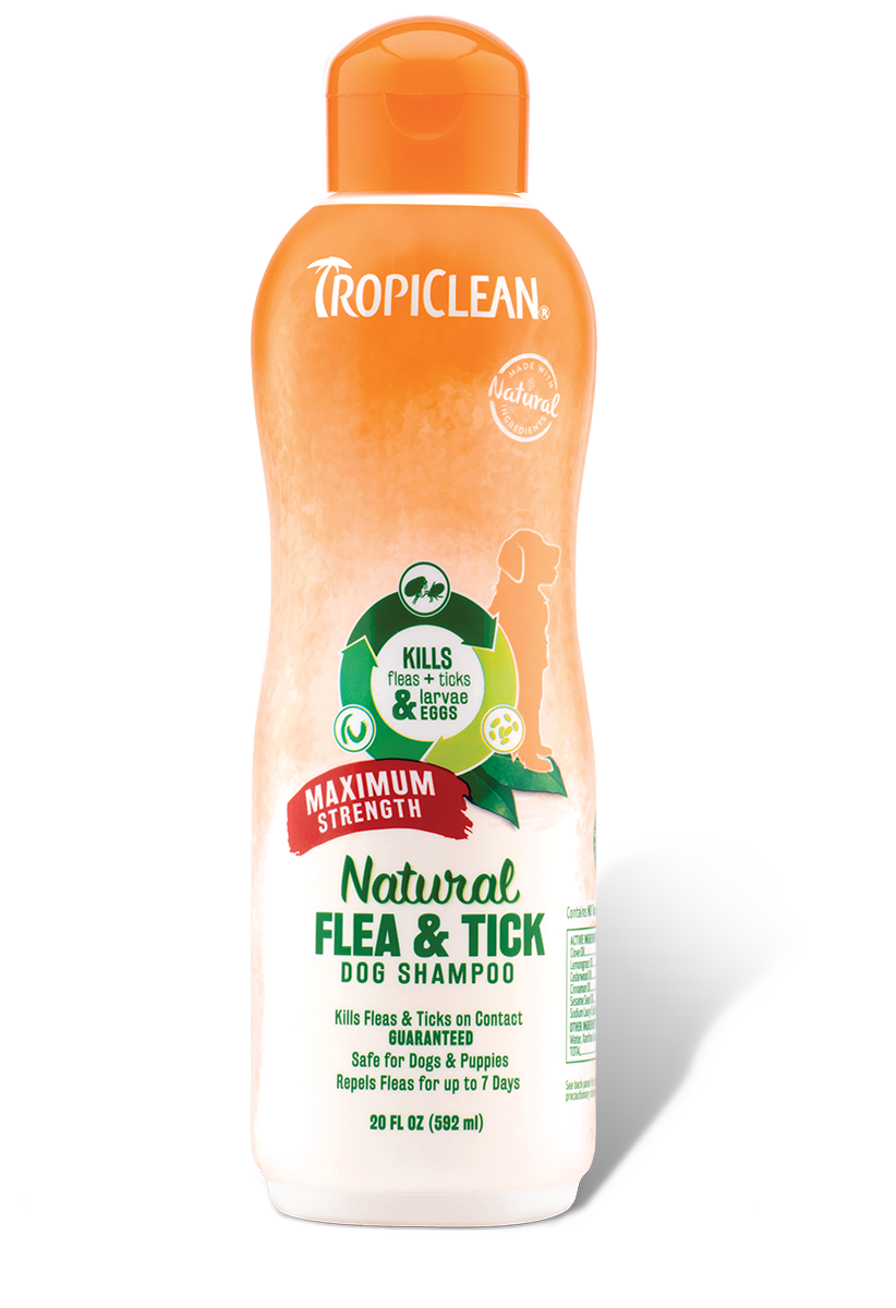 TropiClean Natural Flea and Tick