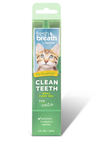 Fresh Breath by TropiClean Oral Care Gel for Cats