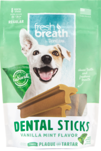 Fresh Breath by TropiClean Dental Sticks for Large Dogs