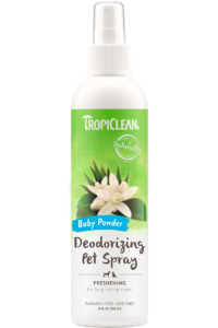 Tropiclean Baby Powder Deodorizing Spray For Dogs And Cats