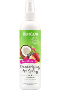 Tropiclean Berry Breeze Deodorizing Spray For Dogs And Cats