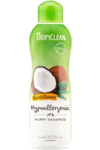 Tropiclean Gentle Coconut Hypoallergenic Shampoo For Dogs Puppies And Cats