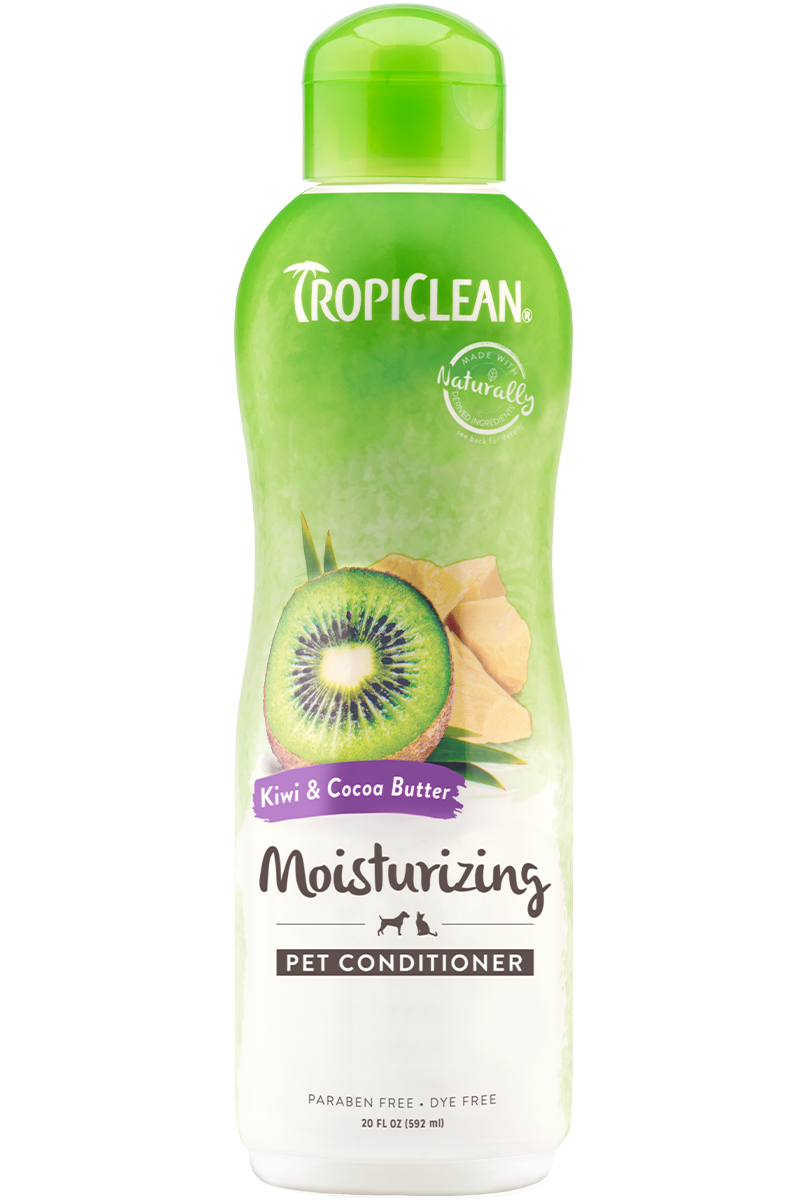 Tropiclean Kiwi And Cocoa Butter Moisturizing Conditioner For Dogs