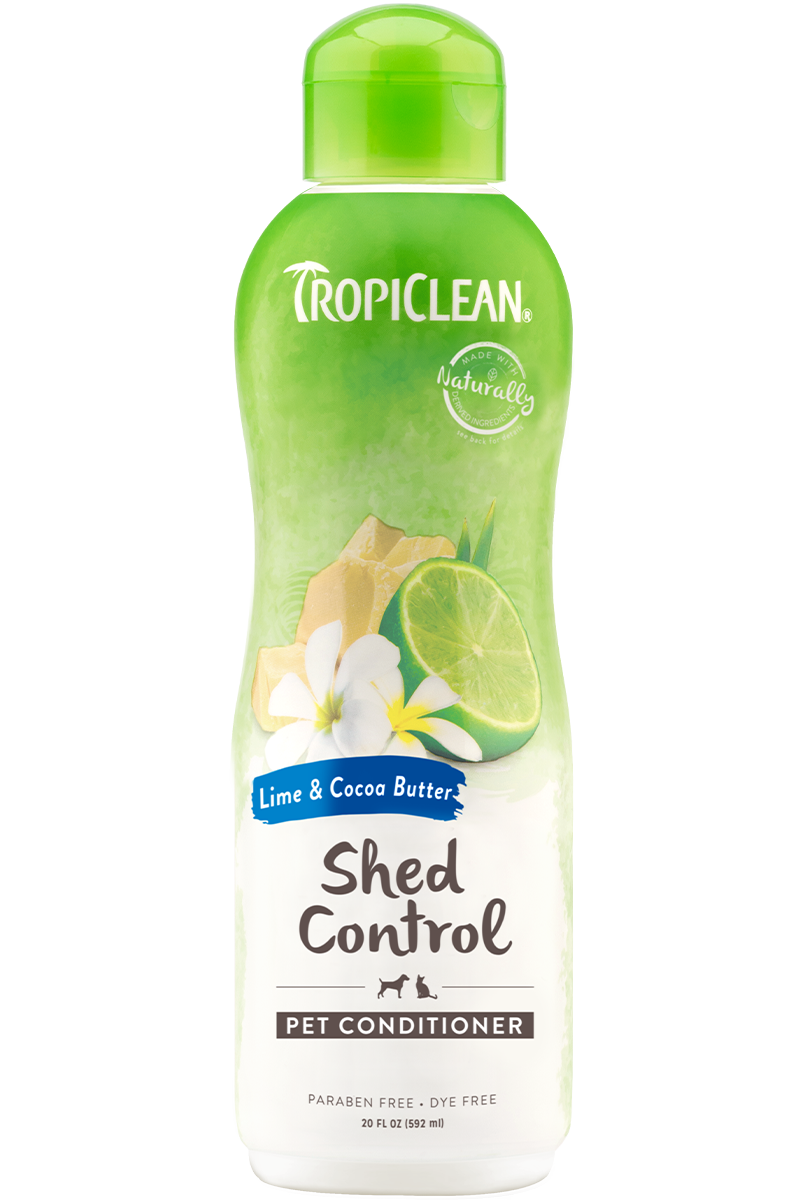 Tropiclean Lime And Cocoa Butter Shed Control Conditioner For Dogs And Cats