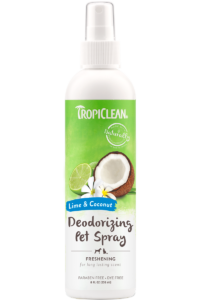 Tropiclean Lime And Coconut Deodorizing Spray For Dogs And Cats