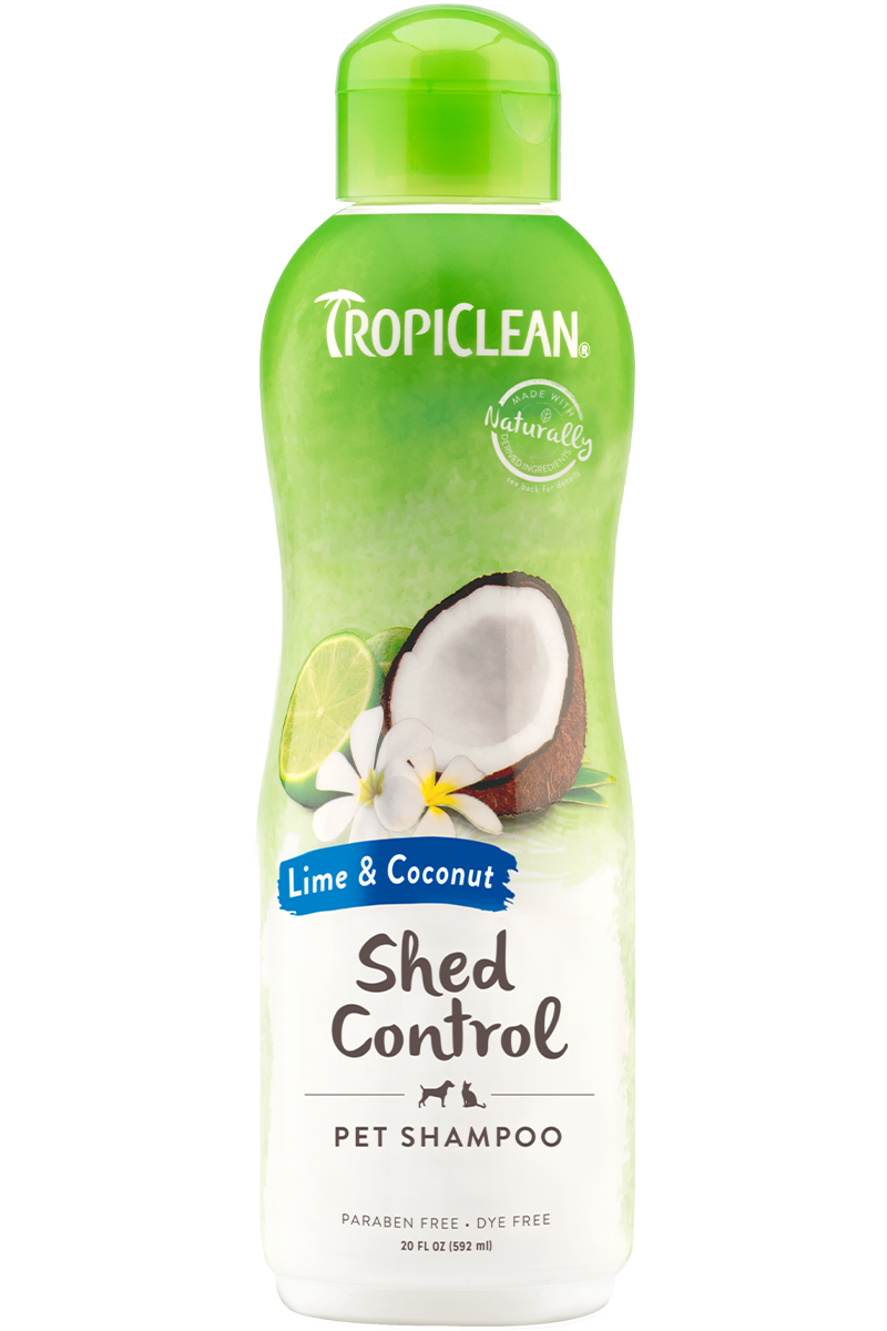 Tropiclean Lime And Coconut Shed Control Shampoo For Dogs And Cats
