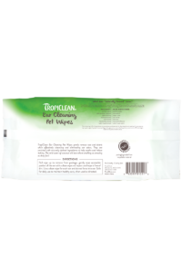 Tropiclean Mild Coconut Ear Cleaning Wipes For Dogs And Cats Back