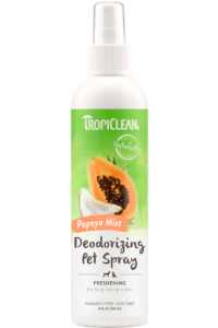 Tropiclean Papaya Mist Deodorizing Spray For Dogs And Cats