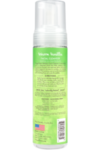 Tropiclean Warm Vanilla Tearless Facial Cleanser No Rinse Waterless Shampoo For Dogs And Cats Back
