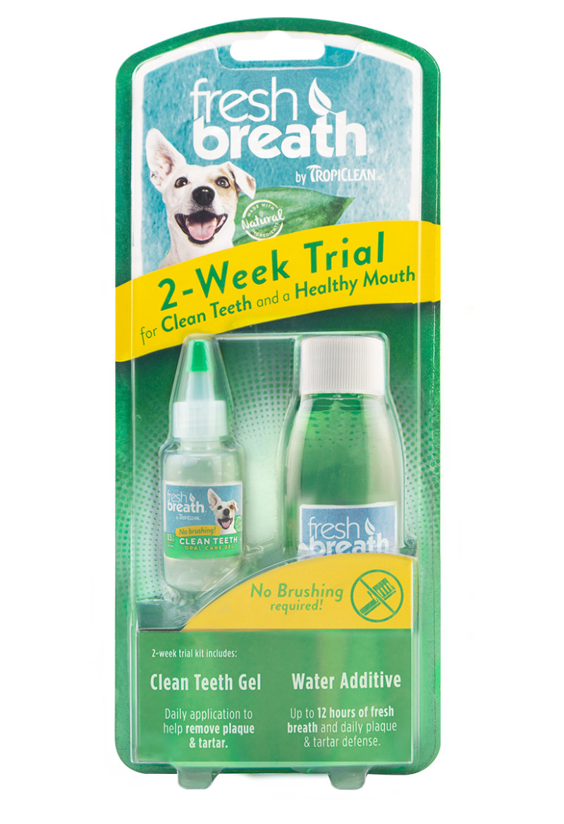 Fresh Breath by TropiClean Dental Trial Kit