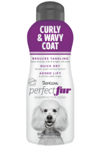 TC PEF Package Photo Curly And Wavy Coat Shampoo 16oz FRONT 800×1200
