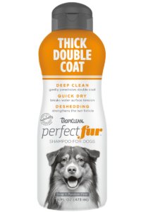 TC PEF Package Photo Thick Double Coat Shampoo 16oz FRONT 800×1200
