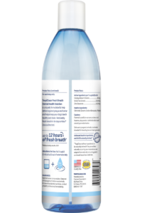 TC FBR CWC Package Photo Dental Health Solution 16oz BACK
